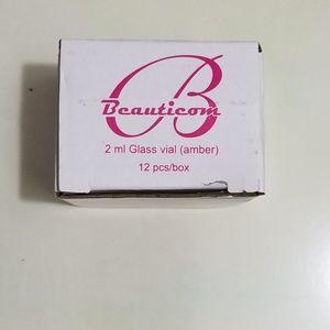 Beauticom Accessories - 2ml Glass Vial (Amber) 12pcs